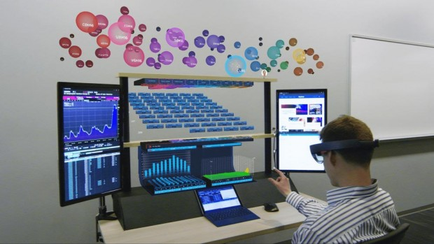 Immersive Financial Trading with 8ninths, Citi and the HoloLens
